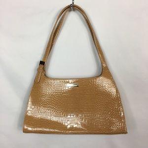 Liz Claiborne Alligator Faux Leather Shoulder Bag